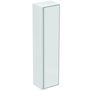 IDEAL STANDARD - Connect Air Vysoká skrinka 400x300x1600 mm, lesklá biela/biela mat (E0832B2)