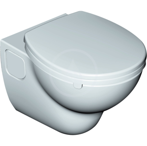 IDEAL STANDARD - Contour 21 Závesný klozet s hlbokým splachovaním 360 mm x 365 mm x 520 mm RIMLESS (bez splachovacieho kruhu), biela (S307001)