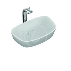 IDEAL STANDARD - Dea Umývadlo na dosku 520 mm x 330 mm x 160 mm, bez otvoru, biela (T044301)