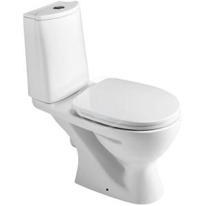 IDEAL STANDARD - Eurovit Kombinačný klozet 350 mm x 775 mm x 655 mm s hlbokým splachovaním (odtok vodorovný), biela (W911901)