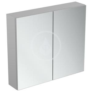 IDEAL STANDARD - Mirror&Light Zrcadlová skříňka 800x700 mm, hliník (T3591AL)