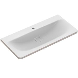 IDEAL STANDARD - Tonic II Nábytkové umývadlo 1015 mm x 490 mm x 170 mm, na kombináciu s umývadlovou skrinkou Tonic II, biela (K086201)