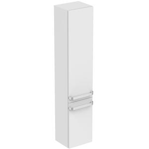 IDEAL STANDARD - Tonic II Vysoká skrinka 350x300x1735 mm, pravá, lesklá svetlosivá (R4315FA)