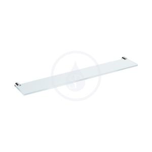 JIKA - Basic Sklenená polička 570 mm, chróm (H3853A20040001)