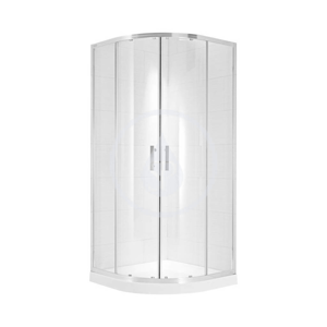 JIKA - Cubito Pure Sprchovací kút štvrťkruhový 880-898x880-898 mm, strieborná/arctic sklo (H2532420026661)