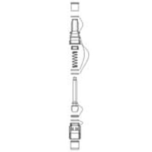 JIKA ND přepínač vana/sprcha k baterii Lyra 3.2127.7 a Olymp 3.2161.7 (H3919960000011)