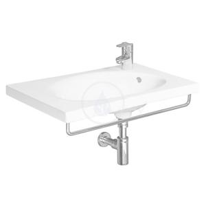 JIKA - Tigo Čelný držiak uteráka na umývadlo, 740 mm, nehrdzavejúca oceľ (H3812120040001)