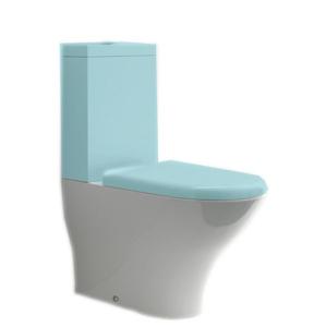 KERASAN - AQUATECH WC kombi misa 36,5x42x65cm, spodný/zadný odpad (371701)