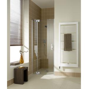 Kermi Kyvné dvere Filia XP 1TR 12020 1180-1210 / 2000 strieborná vys.lesk ESG číre Clean 1-krídlové kyvné dvere s p. Poľom pánty vpravo (FX1TR12020VPK)