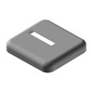 Kermi Therm - krytka stojánkové konzole 60x10mm, plast bílá- při montáži na hotovou podlahu ZB03740001 (ZB03740001)