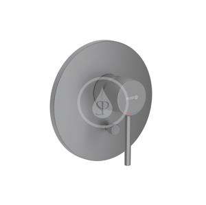KLUDI - Bozz Baterie pod omítku pro 2 spotřebiče, černá mat (386503976)