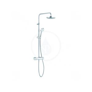 KLUDI - Logo Dual Shower System, termostatická sprchová súprava 1S, chróm 6809505-00