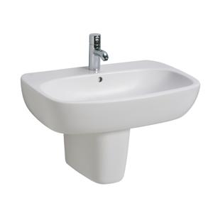 KOLO KOLO Style bílé umyvadlo 60x46cm s otvorem L21960000 (L21960000)