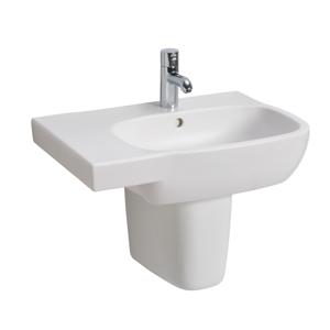 KOLO KOLO Style bílé umyvadlo asymetrické 65cm Levé L21766000 (L21766000)