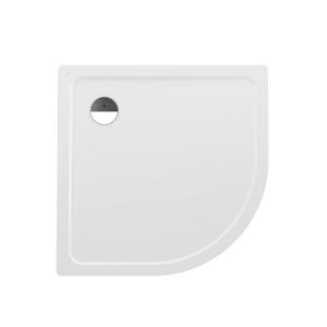Laufen - Platina Sprchová vanička čtvrtkruh, 900 x 900 mm, Sprchová vanička štvrťkruh, 900 mm x 900 mm – s protihlukovými podložkami, biela/antislip (H2150086000401)
