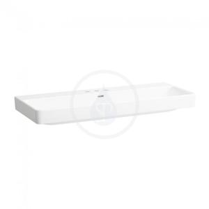 Laufen - Pro S Umývadlo, 1200 mm x 465 mm, 3 otvory na batériu, biela (H8149650001081)
