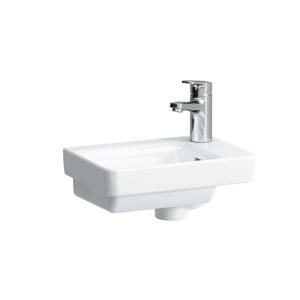 Laufen - Pro S Umývátko, 360 x 250 mm, bílá, Umývadielko, 360 mm x 250 mm, bez otvoru na batériu, s LCC, biela (H8159604001091)