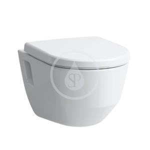 Laufen - Pro Závěsné WC, 530x360 mm, Rimless, s LCC, bílá (H8209644000001)