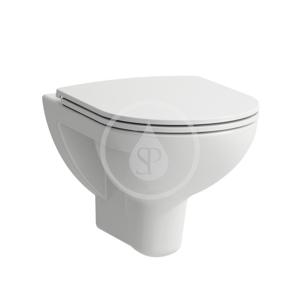 Laufen - Pro Závěsné WC se sedátkem Slim, Slowclose, Rimless, bílá (H8669510000001)