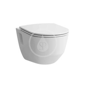 Laufen - Pro Závěsné WC se sedátkem Slim, Slowclose, Rimless, bílá (H8669540000001)
