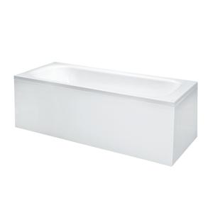 Laufen - Solutions Vana, 1700 x 700 mm, bílá, Vaňa s konštrukciou a L-panelom pravým, 1700 mm x 700 mm, biela (H2225060000001)