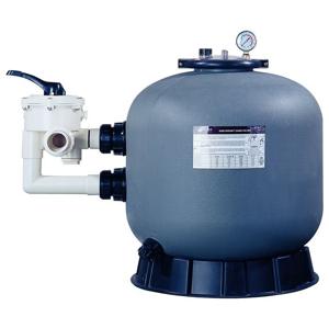 Lorema - Filtračná nádoba 450 mm, max.7,8m3/h., 6 cestný bočný ventil (300010)