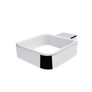NIMCO - Kibo ND samostatný držák nadobky keramické WC kartáče KI14094K-26 KI 14094X-26 (KI 14094X-26)
