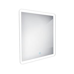 NIMCO zrcadlo LED oblé hrany 60x60cm 35W senzor ZP 19066V (ZP 19066V)