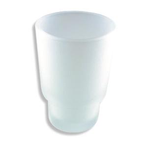 NOVASERVIS - Náhradný pohár Metalia 1 sklo pieskované (6106,XS)