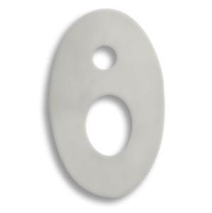 NOVASERVIS - Podložka pod batériu chróm (PB/32050R,0)