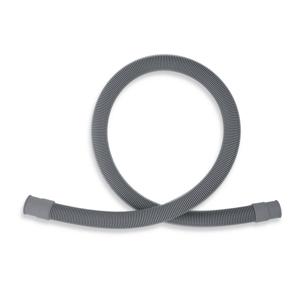 NOVASERVIS - Práčková vypúšťacia hadica rovná 250 cm šedá-250cm (PV/250)