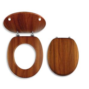 NOVASERVIS - sedátko dyhované drevo (WC/DUB2)