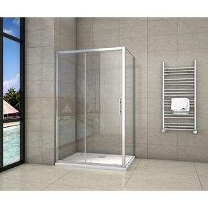 H K - Obdélníkový sprchový kout SYMPHONY 110x90 cm s posuvnými dveřmi (SE-SYMPHONY11090)