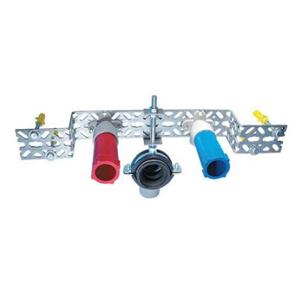 Ostatní - Děrovaný systém - držák dvojitý + spoj. materiál Rabovský 42022051 (42022051)