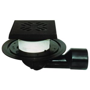 Ostatní - HL terasová vpusť se sifonem 15x15 cm, litinový rám a mřížka HL81.1G (HL81.1G)