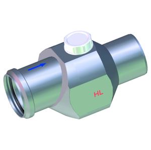 Ostatní - HL zpětná klapka DN70 H i V HL4/7 (HL4/7)