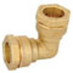 Ostatní - Spojka BUGATTI koleno 25 mosaz (BWO), PE voda i plyn 30390003 (30390003)