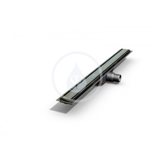 Plano Rošt z nehrdzavejúcej ocele na sprchový žľab Plano lesklý, dĺžka 800 mm (IDRO0800F)