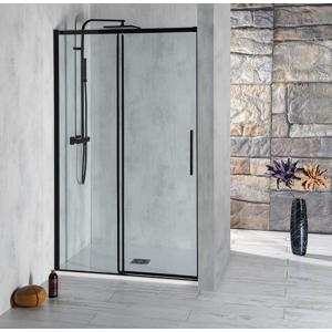 POLYSAN - ALTIS LINE BLACK posuvné dveře 1570-1610mm, výška 2000mm, sklo 8mm (AL4312B)