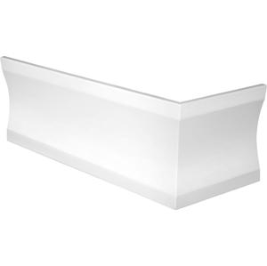 POLYSAN - CLEO 170x75 UL panel rohový 59cm, biela (04811) (94811)