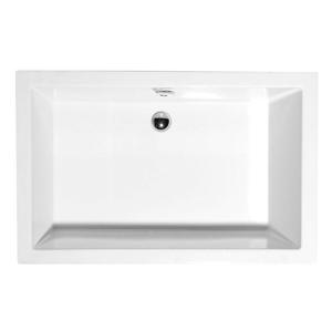 POLYSAN - DEEP hlboká sprchová vanička obdĺžnik 100x75x26cm, biela (72879)