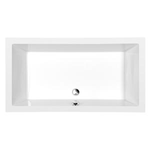 POLYSAN - DEEP hlboká sprchová vanička s konštrukciou, obdĺžnik 110x90x26cm, biela 72372