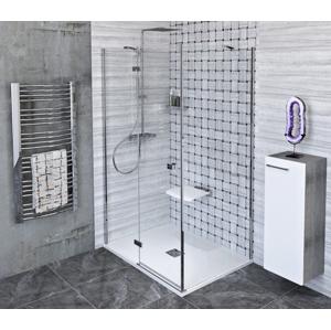 POLYSAN - FORTIS LINE obdĺžniková sprchová zástena 800x1000 mm, L varianta (FL1080LFL3510)