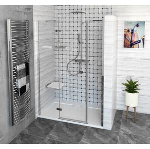 POLYSAN - FORTIS LINE sprchové dvere do niky 1500 mm, číre sklo, ľavé (FL1515L)