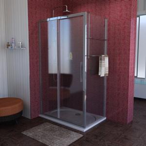POLYSAN - Lucis Line obdĺžniková sprchová zástena 1100x900mm L/P varianta (DL1115DL3415)