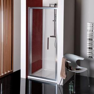 POLYSAN - LUCIS LINE skladacie sprchové dvere 800mm, číre sklo (DL2715)