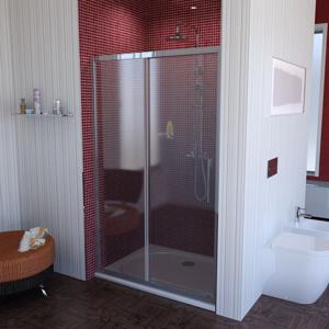 POLYSAN - LUCIS LINE sprchové dveře 1300mm, čiré sklo (DL1315)