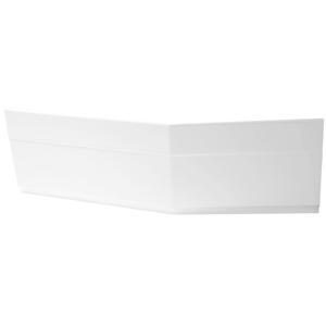 POLYSAN - TIGRA 150 R panel čelný 57,5cm, biela (72935)