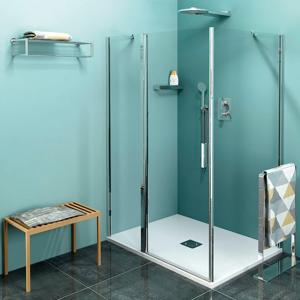 POLYSAN - Zoom Line obdĺžniková sprchová zástena 1000x700mm L/P varianta (ZL1310ZL3270)