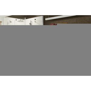 RAVAK - Brilliant Sprchové dvere dvojdielne s pevnou stenou BSDPS-120x90 L, ľavé, 1183 mm – 1195 mm, farba chróm, sklo transparent (0ULG7A00Z1)